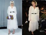 Miley Cyrus In Alessandra Rich - 2017 Billboard Music Awards