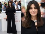 Monica Bellucci In Stella McCartney - Mistress Of Ceremonies Cannes Film Festival Photocall
