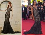 Naomi Campbell In Atelier Versace - Cannes Film Festival 70th Anniversary Celebration