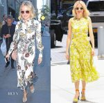 Naomi Watts In Erdem, Lela Rose, Chloe & Prabal Gurung - 'The Book Of Henry' Promotion
