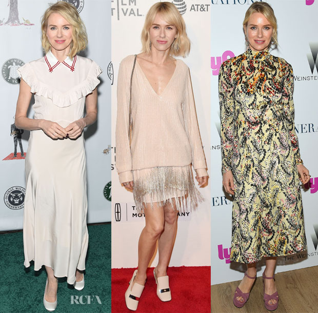 Naomi Watts In Miu Miu Marc Jacobs Prada The Turtle Conservancys Fourth Annual Turtle Ball Chuck Tribeca Film Festival Premiere 3 Generations