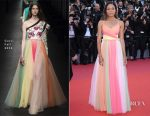 Naomie Harris In Gucci - 'Ismael's Ghosts' Cannes Film Festival Premiere