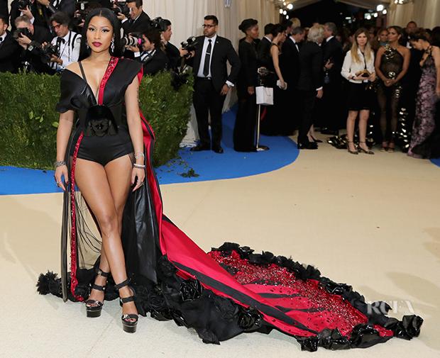 Nicki Minaj In H&M - 2017 Met Gala - Red Carpet Fashion Awards