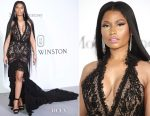 Nicki Minaj In Roberto Cavalli Couture - 2017 amfAR Gala Cannes