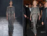 Nicole Kidman In Marchesa - The Bodrum Hotel Opening