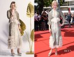 Nicole Kidman In Rodarte - 'How To Talk To Girls At Parties' Cannes Film Festival Premiere