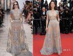 Olga Kurylenko In Elie Saab Couture - 'The Meyerowitz Stories' Cannes Film Festival Premiere