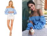 Olivia Culpo's Lovers + Friends x Revolve Silas top