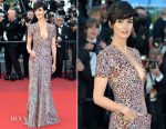 Paz Vega In Armani Privé  - '120 Beats Per Minute' Cannes Film Festival