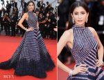 Praya Lundberg In Rami Kadi Couture - 'L'Amant Double (Amant Double)' Cannes Film Festival Premiere