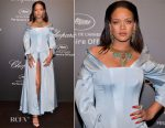Rihanna In Adam Selman - Chopard Space Party