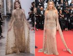 Rita Ora In Elie Saab Couture - Cannes Film Festival 70th Anniversary Celebration