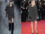 Robin Wright In Saint Laurent - 'Ismael's Ghosts' Cannes Film Festival Premiere
