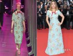 Salma Hayek In Gucci - Cannes Film Festival 70th Anniversary Celebration