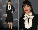 Salma Hayek In Gucci - Kering Talks Women In Motion