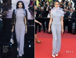 Sara Sampaio In Armani Privé  - '120 Beats Per Minute' Cannes Film Festival Premiere