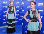 Scarlett Johansson In Elie Saab - Planned Parenthood 100th Anniversary Gala