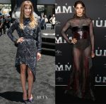 Sofia Boutella In Rodarte & Prabal Gurung - 'The Mummy' Sydney Premiere