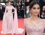 Sonam Kapoor In Elie Saab Couture - 'The Meyerowitz Stories' Cannes Film Festival Premiere