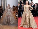 Sonam Kapoor In Elie Saab Couture - 'The Killing Of A Sacred Deer' Cannes Film Festival Premiere