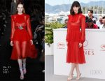 Stacy Martin In No. 21 - 'Redoubtable' Photocall Cannes Film Festival Photocall