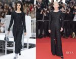 Tilda Swinton In Chanel - Cannes Film Festival 70th Anniversary Celebration