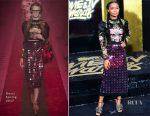 Yara Shahidi In Gucci - 2017 MTV Movie & TV Awards