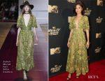 Zendaya In Zuhair Murad Couture - 2017 MTV Movie & TV Awards
