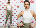 Alessandra Ambrosio In A.L.C. & Elisabetta Franchi - Xti Summer 2017 Collection Launch