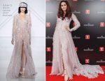 Araya A. Hargate In Ralph & Russo Couture & Giambattista Valli Couture - 2017 Shanghai International Film Festival