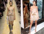Bella Hadid In Christian Dior - Dior x Sephora: Diorshow Pump n Volume Mascara Event