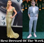 Best Dressed Of The Week - Annabelle Wallis In Giorgio Armani & Tommy Dorfman In Vince Camuto
