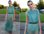 Cara Delevingne In Burberry - Save The Elephants Dinner