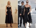 Charlize Theron In Alexander McQueen - Jimmy Kimmel Live!