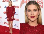 Claire Holt In ML Monique Lhuillier - '47 Meters Down' LA Premiere