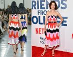 Cobie Smulders In Emilio Pucci - 'Friends From College' New York Premiere