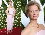Cynthia Nixon In Rosie Assoulin - 2017 Tony Awards