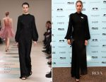 Doutzen Kroes In Azzedine Alaïa - Save The Elephants Dinner