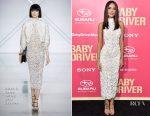 Eiza Gonzalez In Ralph & Russo Couture - 'Baby Driver' LA Premiere