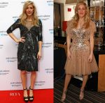 Ellie Goudling In Jenny Packham -  End the Silence Charity Fundraiser
