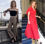 Emma Watson In BreeLayne, Edun & Rosie Assoulin - 'The Circle' Promo Tour
