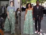 Gabrielle Union takes Menswear Spring 2018  Paris Fashion Week by storm