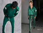 Hailey Baldwin In Fear of God - Craigs Restaurant