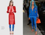 Halsey In Gucci - Out In New York City