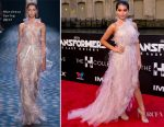 Isabela Moner In Marchesa - 'Transformers: The Last Knight' Chicago Premiere