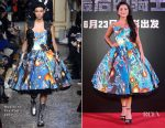Isabela Moner In Moschino - 'Transformers: The Last Knight' China World Premiere