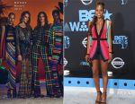 Issa Rae In Balmain - 2017 BET Awards
