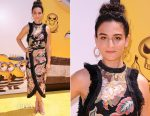 Jenny Slate In Alice McCall - 'Despicable Me 3' LA Premiere
