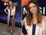 Jessica Alba In Galvan - Apple Music's Planet of the Apps Party