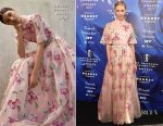 Karlie Kloss In Carolina Herrera - 2017 Fragrance Foundation Awards